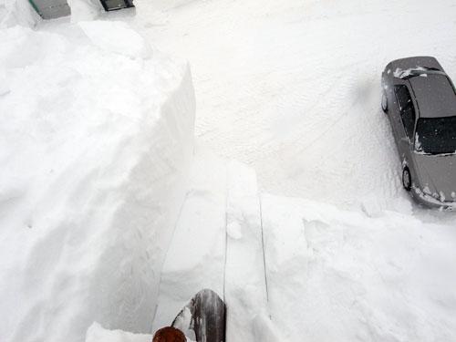 雪庇落とし、続続編_c0189970_16374237.jpg