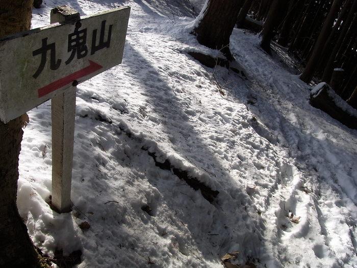 2012.1.28 中央線Southソロハイク ~低山のFlat&Longな尾根を探しに~_b0219778_22192266.jpg
