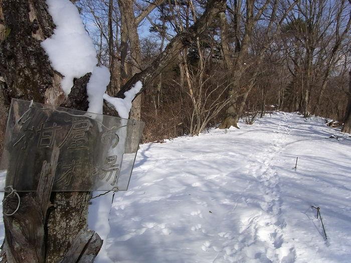 2012.1.28 中央線Southソロハイク ~低山のFlat&Longな尾根を探しに~_b0219778_2222142.jpg