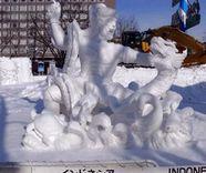 インドネシア今年も参加@第39回国際雪像コンクール_a0054926_2305312.jpg
