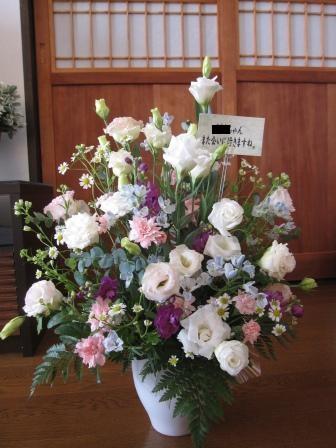 お花に囲まれて_a0243064_11183948.jpg