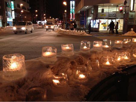 Candle night in Nakanoshima_e0014773_11545619.jpg