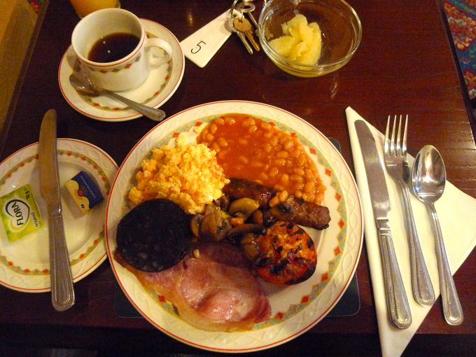 Shuko in the (初) UK【English Breakfast 黒の正体】_f0170995_10263424.jpg