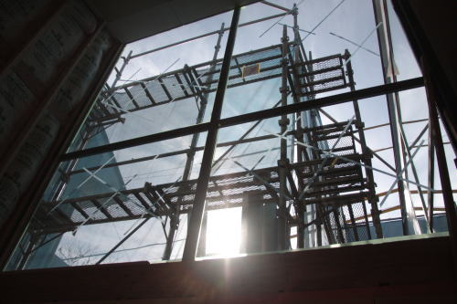 sky terrace 現場へ_f0039406_21462767.jpg