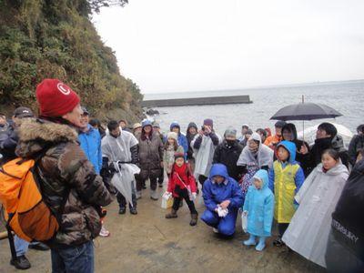 「江ノ島でゴミ拾い」/文:ルー大柴_a0083222_13563638.jpg