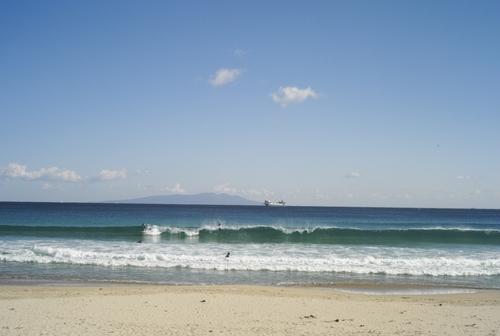 真夏のような海の色_b0212922_23555067.jpg