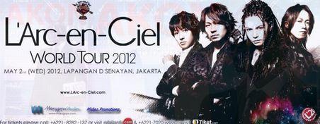 """ラルクのジャカルタコンサート@""""L\'Arc~en~Ciel 20th Anniversary World Tour""""_a0054926_15373321.jpg"""