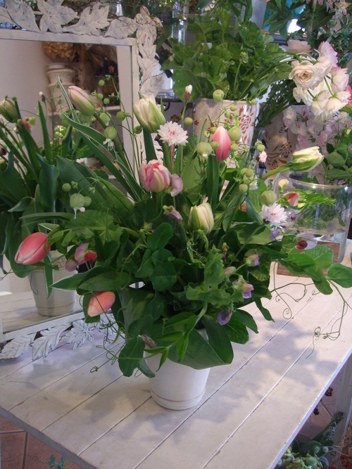オークリーフ花の教室(加田さんの作品)_f0049672_17295268.jpg