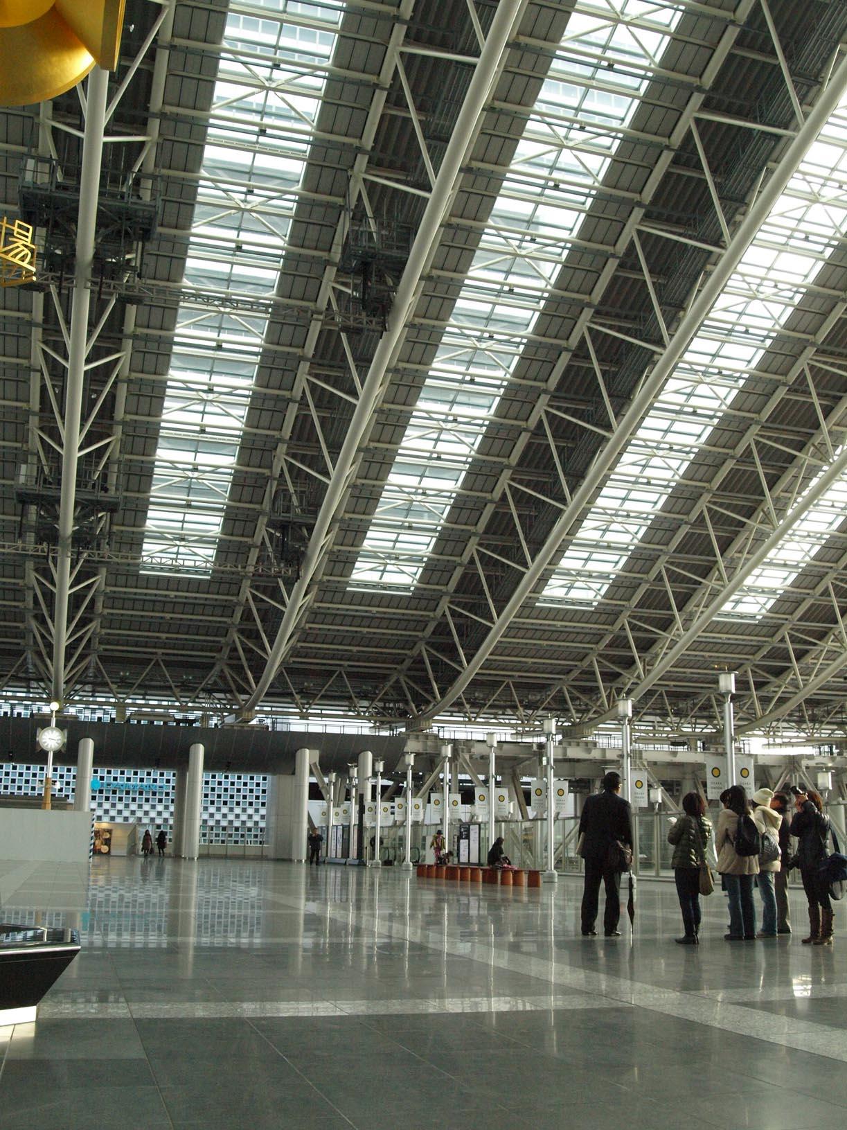 I LOVE OSAKA ★★新しくなった JR大阪駅をチェックー日本滞在記_c0179785_1831845.jpg