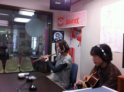 フルートとギターのマリアージュ☆_a0126418_1725415.jpg
