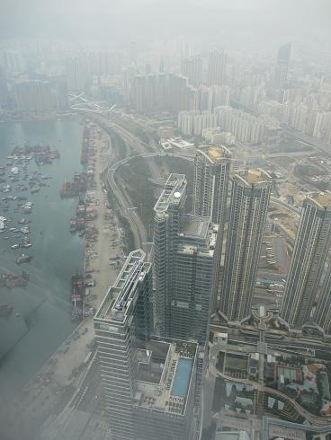 Day1:香港へ、Sky100_d0026830_18502944.jpg