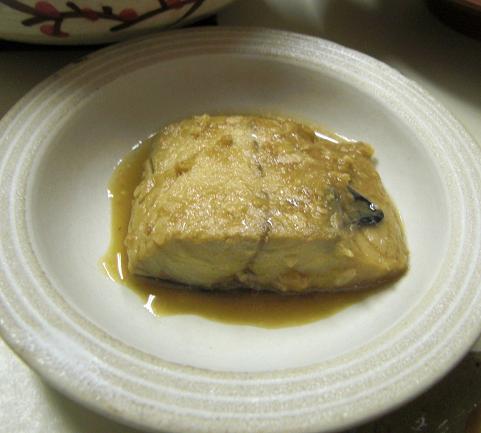 ようやく食べた...鯖の味噌煮。_c0119140_1475677.jpg