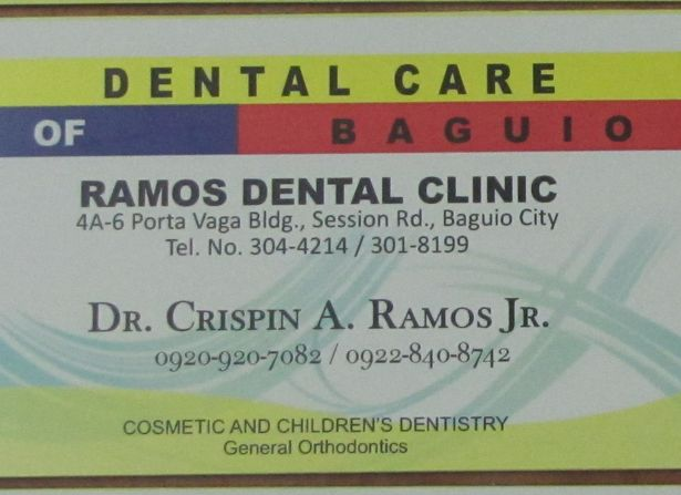 バギオで歯が痛くなったら - 歯科クリニックの御紹介_a0109542_1293170.jpg