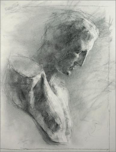 『素描 ・・・ 鉛筆パステル』_f0159856_341562.jpg