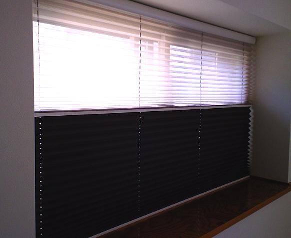 和室の窓にプリーツスクリーンをお取り付け『ニチベイ』_c0157866_15375927.jpg
