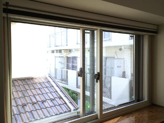 和室の窓にプリーツスクリーンをお取り付け『ニチベイ』_c0157866_1652460.jpg