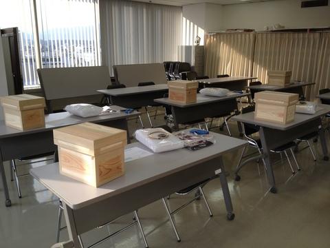 岩田屋コミュニティカレッジにて 茶箱パート2_e0112378_16303742.jpg