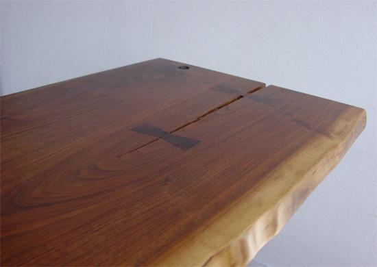 ラスティックテーブル、ウォールナット_e0115686_1135694.jpg