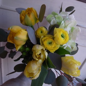 黄色の花束_d0104091_19593730.jpg