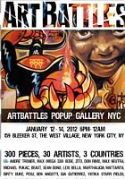 ニューヨークのアーティスト達が対決するアートバトル Art Battles_b0007805_0471231.jpg