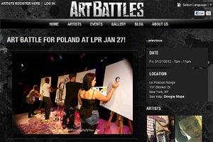 ニューヨークのアーティスト達が対決するアートバトル Art Battles_b0007805_0472057.jpg