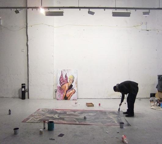 ニューヨークのアーティスト達が対決するアートバトル Art Battles_b0007805_0473671.jpg