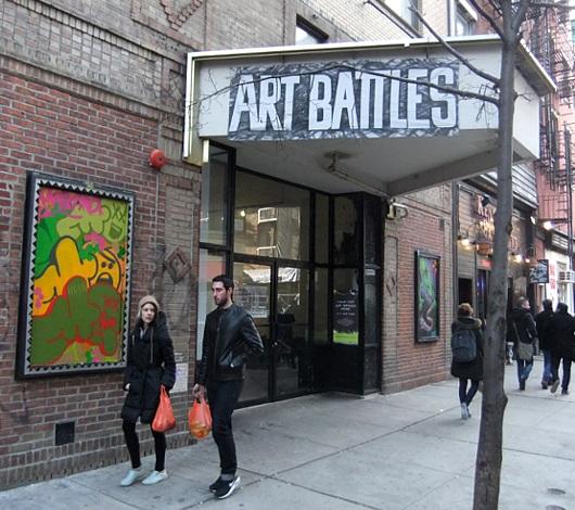 ニューヨークのアーティスト達が対決するアートバトル Art Battles_b0007805_04748.jpg