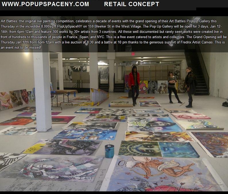 ニューヨークのアーティスト達が対決するアートバトル Art Battles_b0007805_2583275.jpg