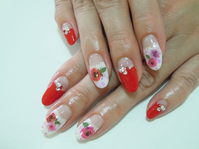 Rose Nail_a0239065_1605238.jpg