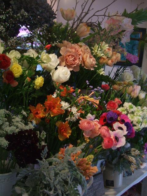 オークリーフ(モノトーンの花)_f0049672_14140100.jpg