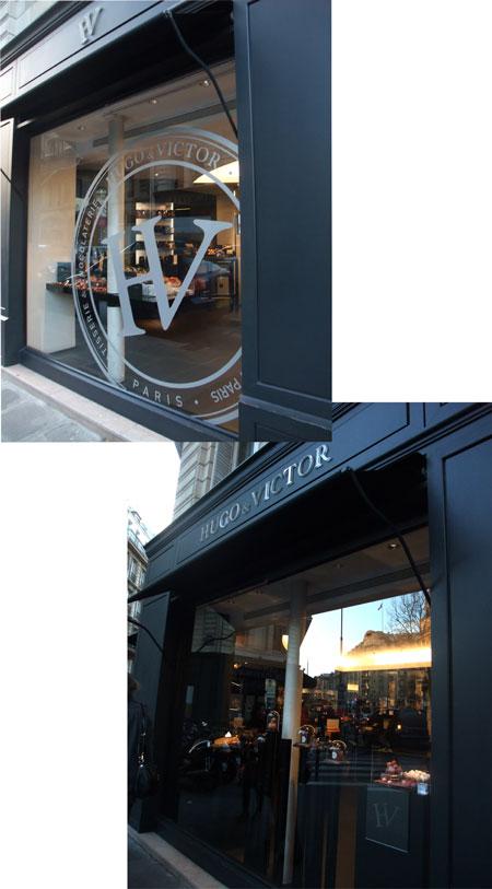 Parisのお菓子   HUGO&VICTOR_f0127281_14361772.jpg