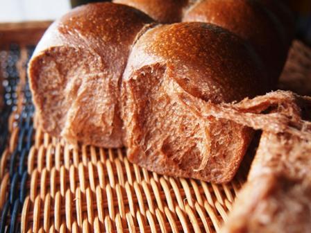 ココア生地のパン_e0167593_111359.jpg
