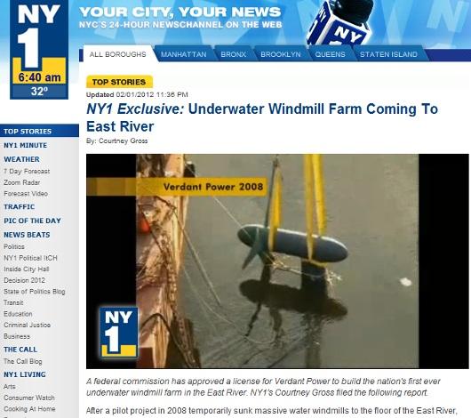 ニューヨークのイースト・リバー水中での自然エネルギー発電が商用化へ_b0007805_22103098.jpg