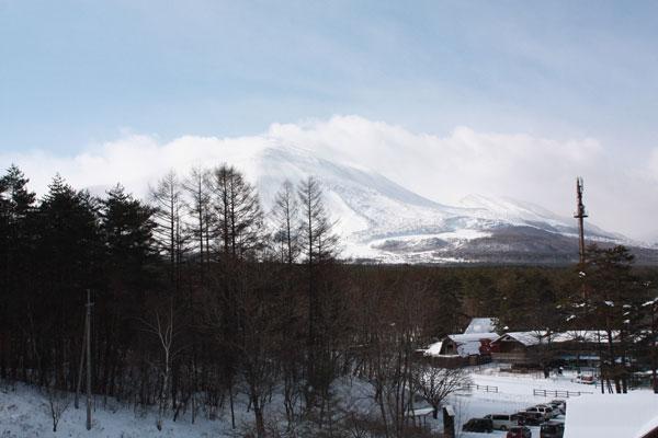 雪遊び in 浅間牧場_f0203423_1337447.jpg