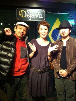 牧田正昭&鮫島直美LIVE@デジャヴ_d0168331_8592497.jpg
