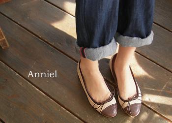 Anniel バイカラーバレーシューズ 2699_a0130646_11555022.jpg