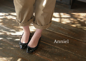 Anniel エナメルバレーシューズ 2514_a0130646_1254831.jpg