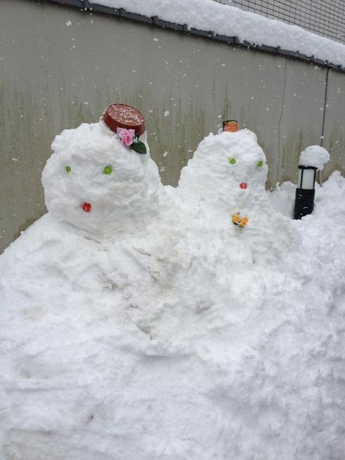 雪だるま_e0231482_13404042.jpg