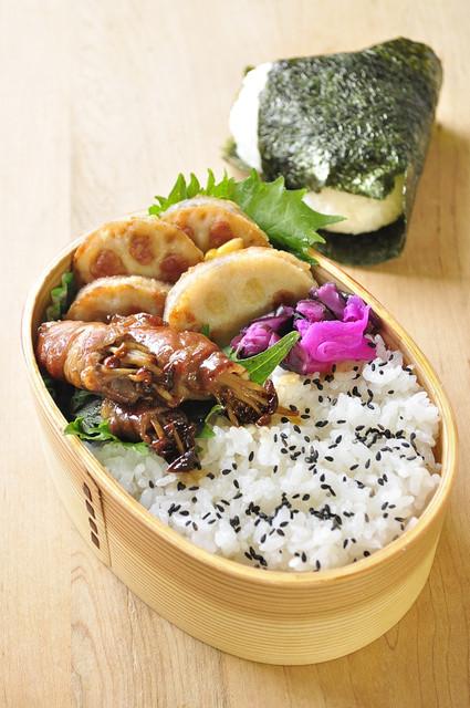 蓮根サンドのお弁当と味噌作りとカノーリ風おやつ_b0171098_925098.jpg