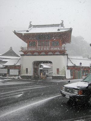 雪の武雄温泉_f0040201_17192049.jpg