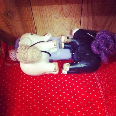 怪獣たちとお人形さんたち_b0116902_925096.jpg