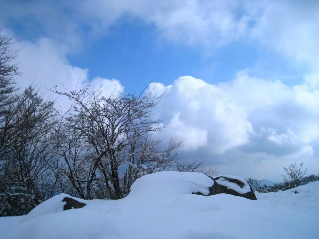 四王寺の滝と英彦山。_a0097006_1343465.jpg