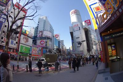 2月3日(金)今日の渋谷109前交差点_b0056983_16241756.jpg