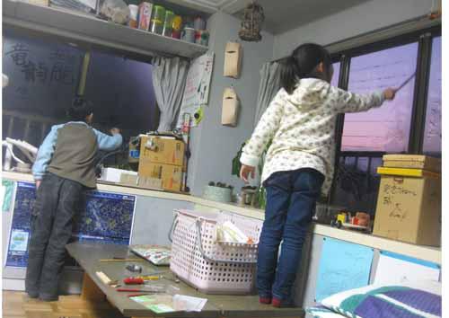 織りもの・小学生クラス_f0211514_18283414.jpg