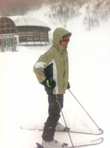 シェフはスキー教官?_e0210422_110081.jpg