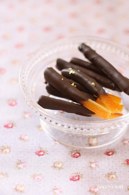 手作りオランジェットはチョコレートのテンパリングさえクリアすればOK