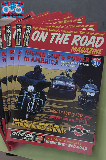 『ON THE ROAD MAGAZINE』Vol.31入荷!_e0126901_1517738.jpg