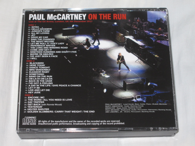 PAUL McCARTNEY / ON THE RUN IN LONDON_b0042308_18562955.jpg
