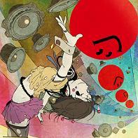『J-アニソン神曲祭り』CDジャケットイラスト 6人の女の子DJの名前大募集_e0025035_18595820.jpg