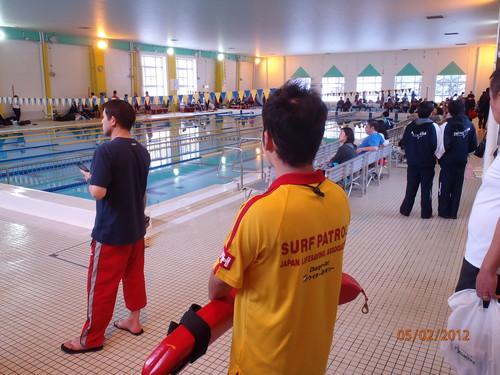 水泳大会監視! &  クラブプール練習会!_b0216309_0383082.jpg